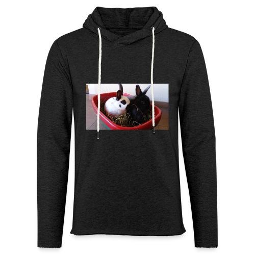 Warme Sachen mit dem Hasenlogo - Leichtes Kapuzensweatshirt Unisex