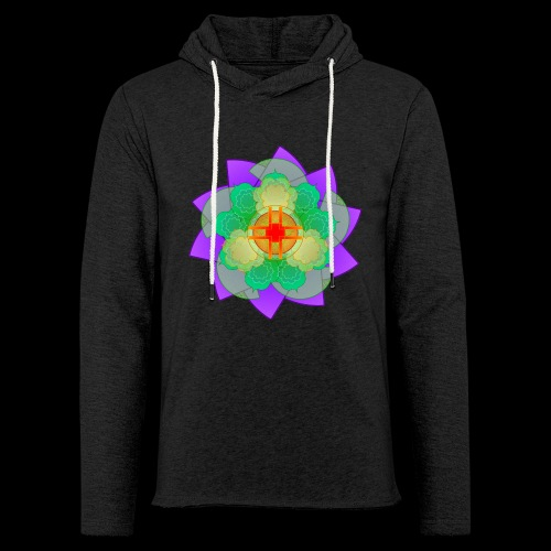 mandala 2 - Light Unisex Sweatshirt Hoodie