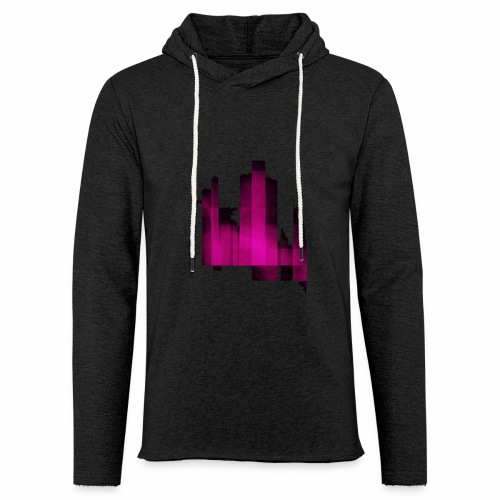 Abstract graphic - Sweat-shirt à capuche léger unisexe