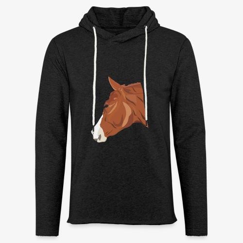 Quarter Horse - Leichtes Kapuzensweatshirt Unisex