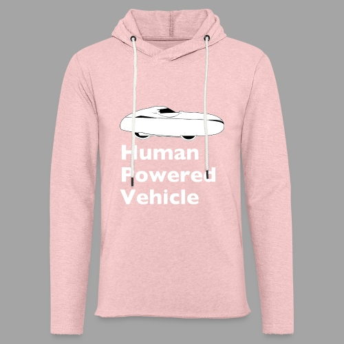 Quest Human Powered Vehicle 2 white - Kevyt unisex-huppari