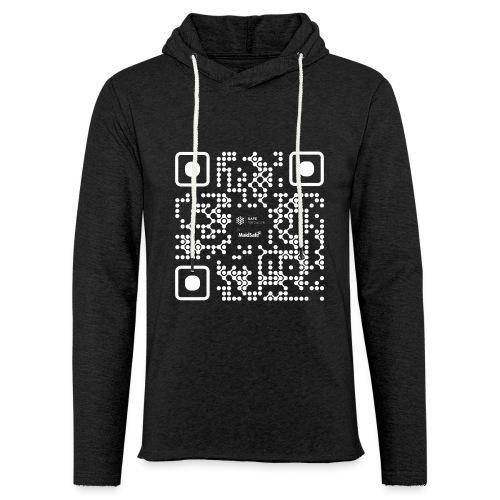 QR - Maidsafe.net White - Light Unisex Sweatshirt Hoodie