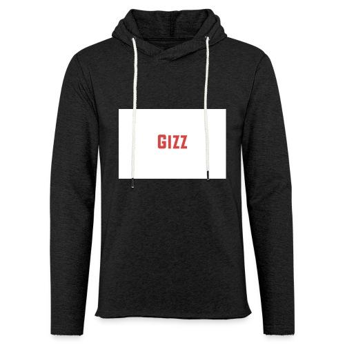 Gizz rood - Lichte hoodie unisex
