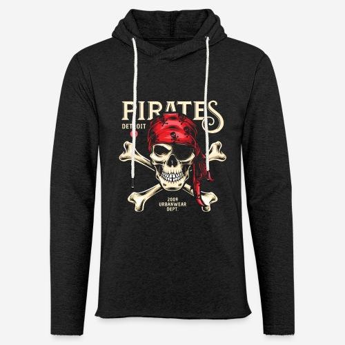 Piraten Urban Wear Sportswear - Leichtes Kapuzensweatshirt Unisex