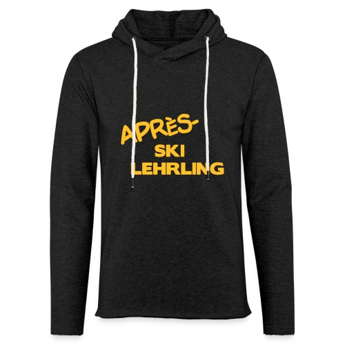 Après Ski Lehrling, Winter Shirt - Leichtes Kapuzensweatshirt Unisex