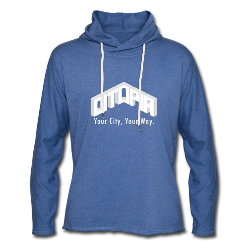 Logo with Slogan - Light Unisex Sweatshirt Hoodie