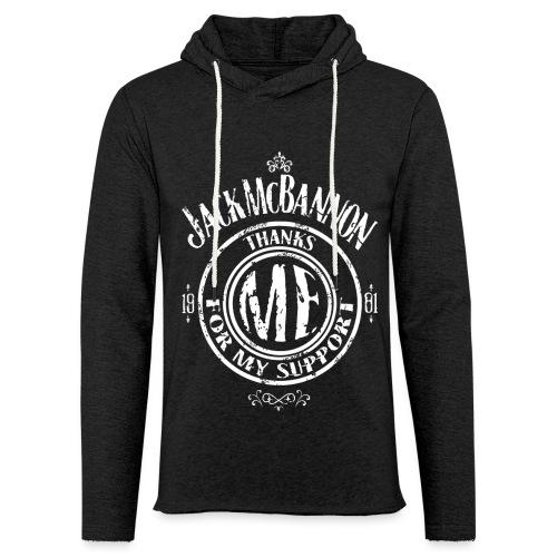 Jack McBannon Thanks Me For My Support - Leichtes Kapuzensweatshirt Unisex
