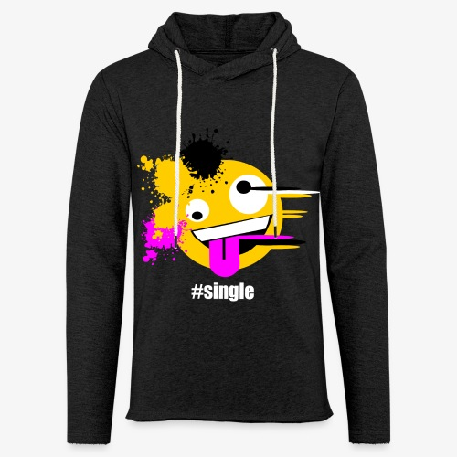 Emoji Art #single - Leichtes Kapuzensweatshirt Unisex