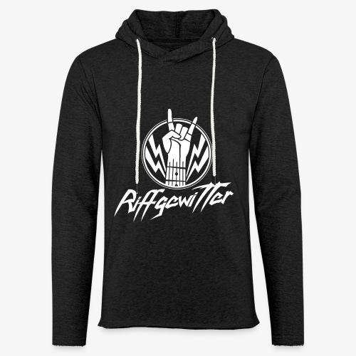 Riffgewitter - Hard Rock und Heavy Metal - Leichtes Kapuzensweatshirt Unisex