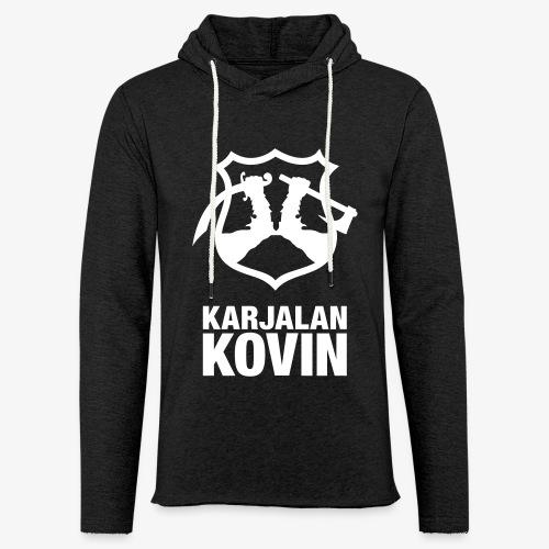 Karjalan Kovin Iso logo - Kevyt unisex-huppari