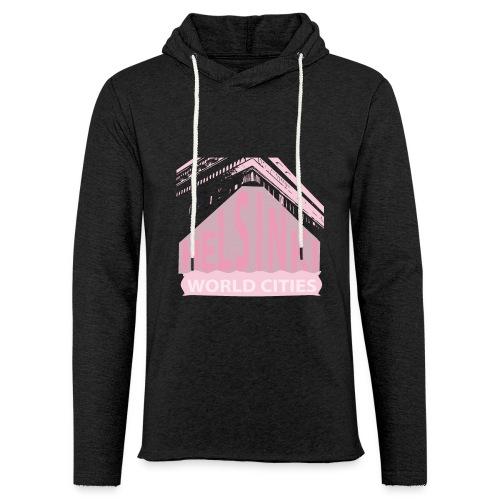 Helsinki light pink - Light Unisex Sweatshirt Hoodie