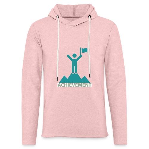 Typo Achiement by CloudMonde - Light Unisex Sweatshirt Hoodie