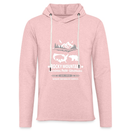 Rocky Mountain Nationalpark Berg Bison Grizzly Bär - Light Unisex Sweatshirt Hoodie
