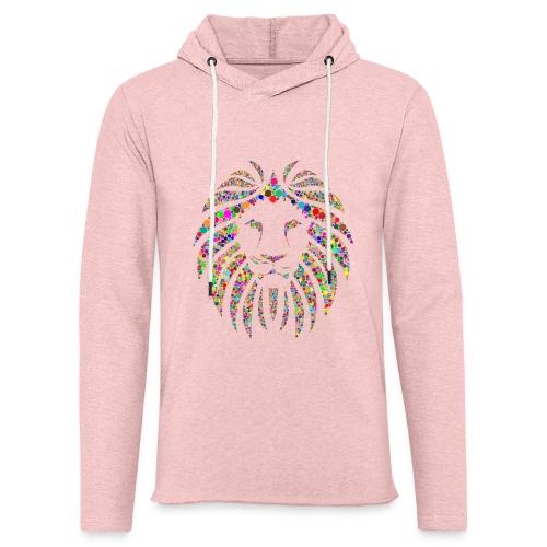 Ausdruck des Löwen - Leichtes Kapuzensweatshirt Unisex