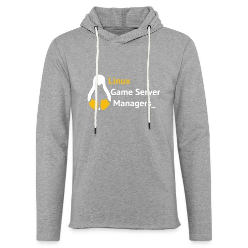 Linux Game Server Managers - Light Unisex Sweatshirt Hoodie