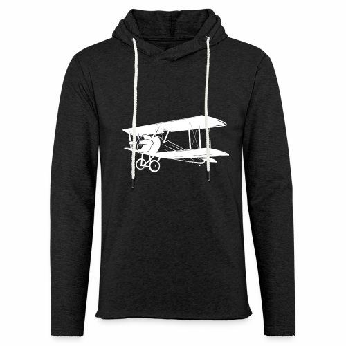 airplane2 png - Sweat-shirt à capuche léger unisexe