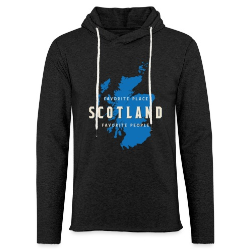 Scotland: Favorite Place, Favorite People - Leichtes Kapuzensweatshirt Unisex