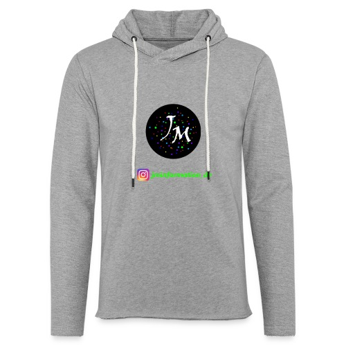 jminformation-Logo - Leichtes Kapuzensweatshirt Unisex
