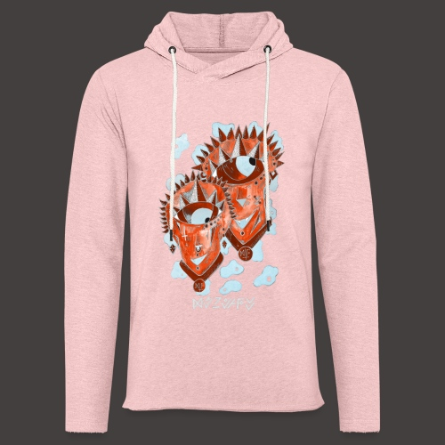 Gémeaux Négutif - Sweat-shirt à capuche léger unisexe