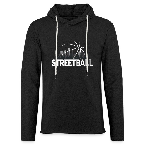 Streetball Skyline - Street basketball - Light Unisex Sweatshirt Hoodie