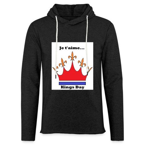 Je taime Kings Day (Je suis...) - Lichte hoodie unisex