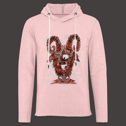 Belier Négutif - Sweat-shirt à capuche léger unisexe