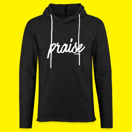 Praise (WHITE) - Light Unisex Sweatshirt Hoodie