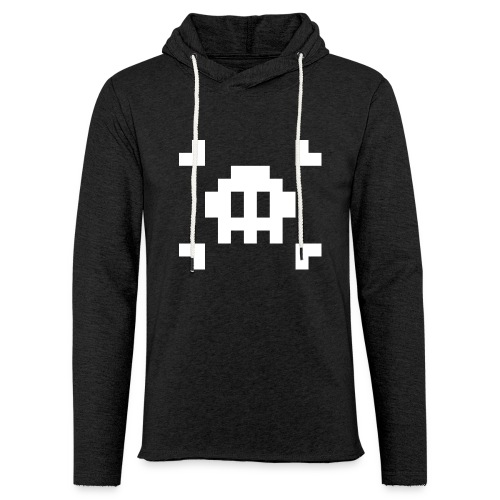Mug Pixel Skull - Sweat-shirt à capuche léger unisexe