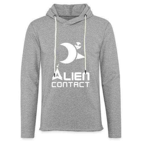 Alien Contact - Felpa con cappuccio leggera unisex