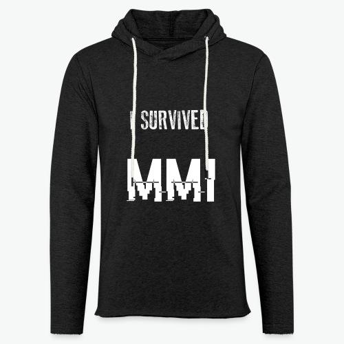 MMI survivor alternative - Sweat-shirt à capuche léger unisexe