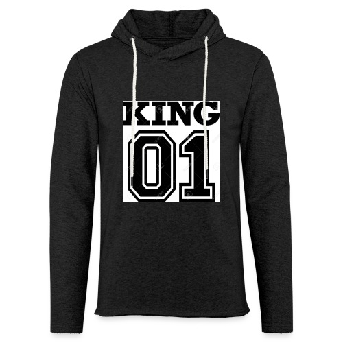King 01 - Sweat-shirt à capuche léger unisexe