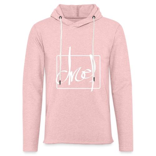 Droef.Gent wit - Lichte hoodie unisex