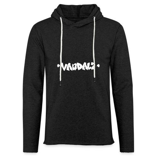 Vandalz White - Felpa con cappuccio leggera unisex