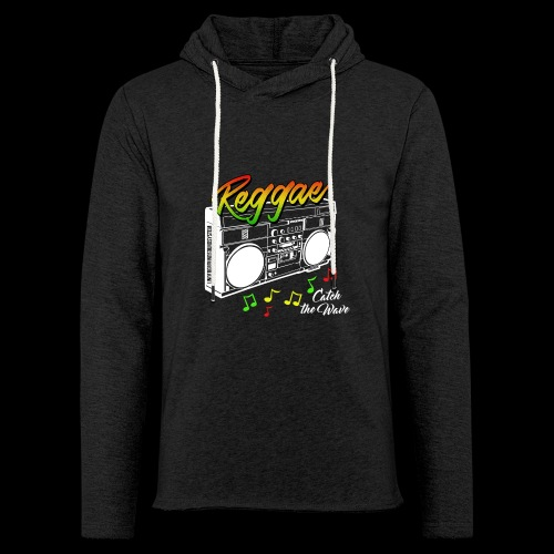 Reggae - Catch the Wave - Leichtes Kapuzensweatshirt Unisex