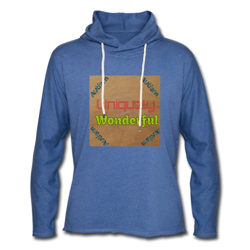Autism statement - Light Unisex Sweatshirt Hoodie