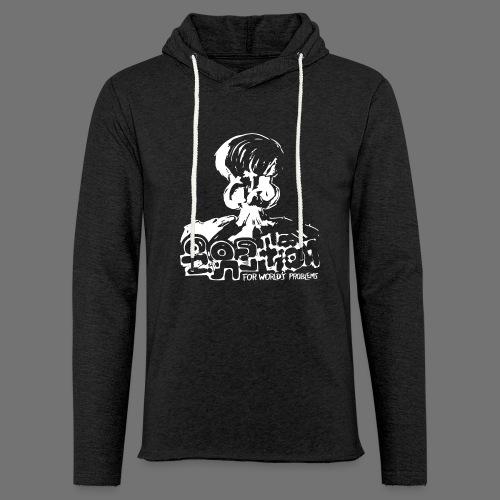 No Solution (white) - Light Unisex Sweatshirt Hoodie