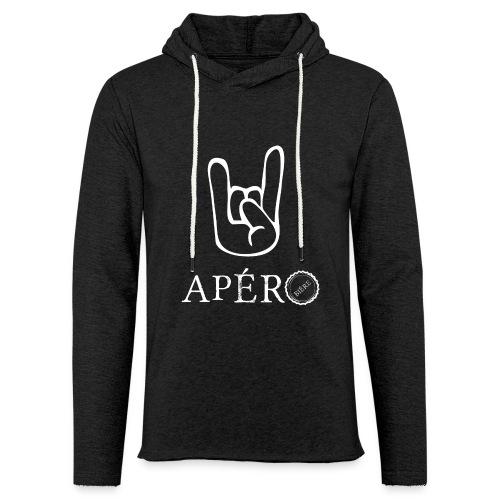 rock and apéro - Sweat-shirt à capuche léger unisexe
