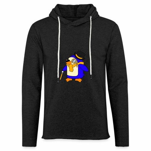 Cute Posh Sunny Yellow Penguin - Light Unisex Sweatshirt Hoodie