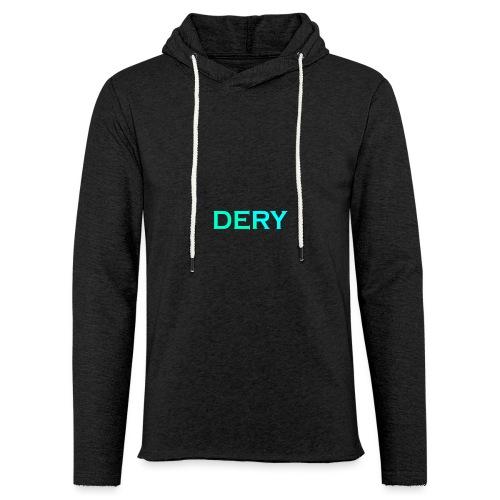 DERY - Leichtes Kapuzensweatshirt Unisex
