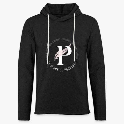 La Plume de Poudlard rond - Sweat-shirt à capuche léger unisexe