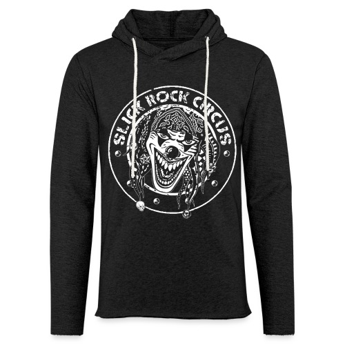 Slick Rock Circus Evil Clown Monochrome - Leichtes Kapuzensweatshirt Unisex