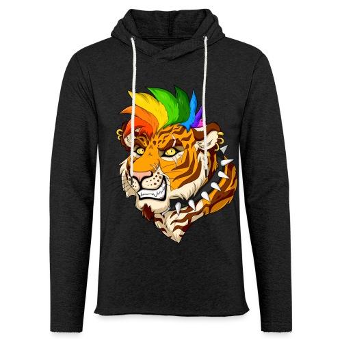 Punk Tiger - Lekka bluza z kapturem
