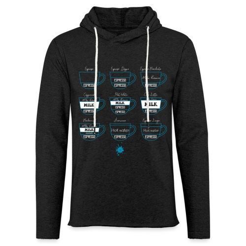 0223 Coffee Collection | Kafffee | cappuccino - Light Unisex Sweatshirt Hoodie
