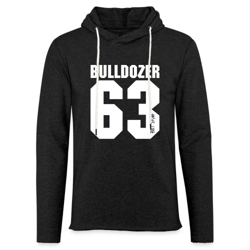 Bulldozer 63 - Felpa con cappuccio leggera unisex
