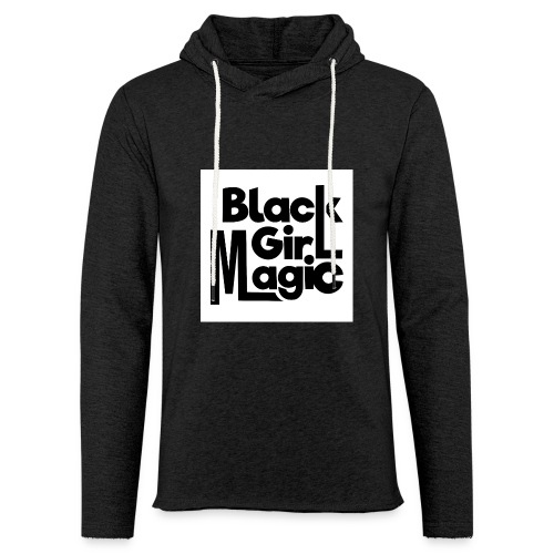 Black Girl Magic 2 Black Text - Light Unisex Sweatshirt Hoodie