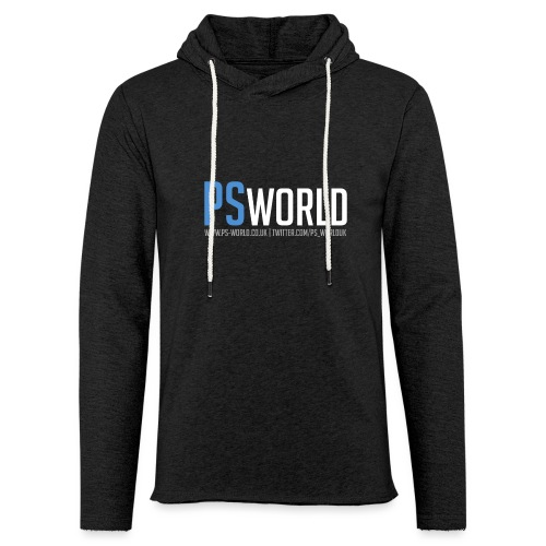 PS-World Logo - Light Unisex Sweatshirt Hoodie