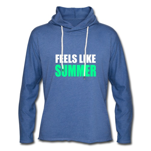 Feels like summer - Leichtes Kapuzensweatshirt Unisex