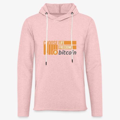 Bitcoin - Sweat-shirt à capuche léger unisexe