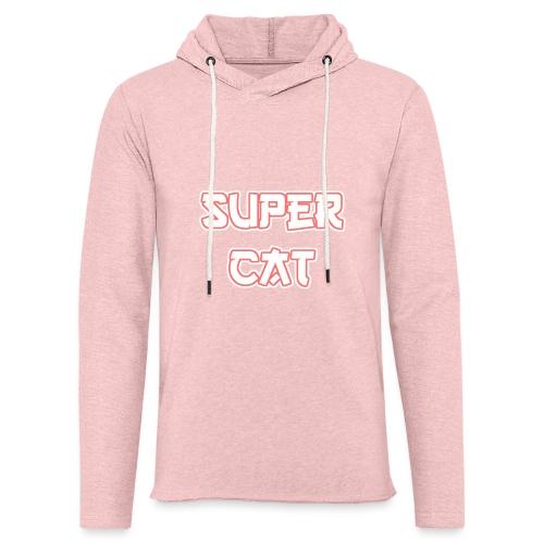 Super Cat - Leichtes Kapuzensweatshirt Unisex