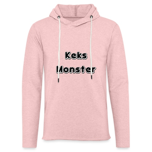 Keks Monster - Leichtes Kapuzensweatshirt Unisex